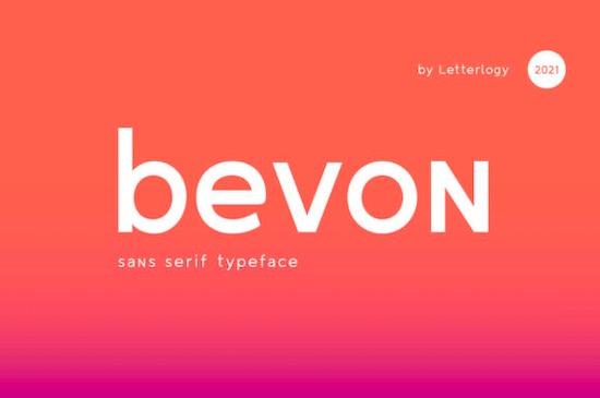 Bevon Font free download