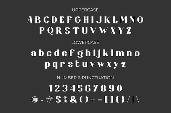 Bongaty Font download