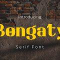 Bongaty Font free download