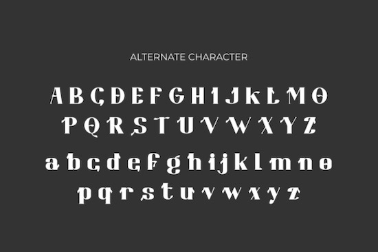 Bongaty Font free
