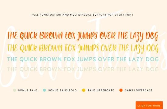 Bouncy Castle font download