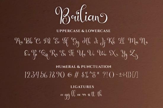 Brilian Font download