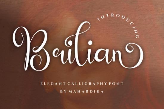 Brilian Font free download