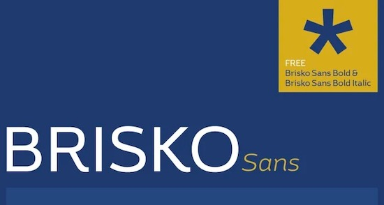 Brisko Sans Font free download