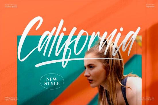 California Font free download