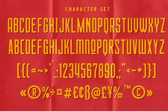 Chillvornia Stamp Font free download