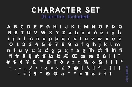 Ciento Font download
