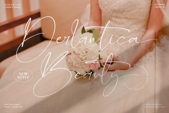 Derlantica Beauty Font free download