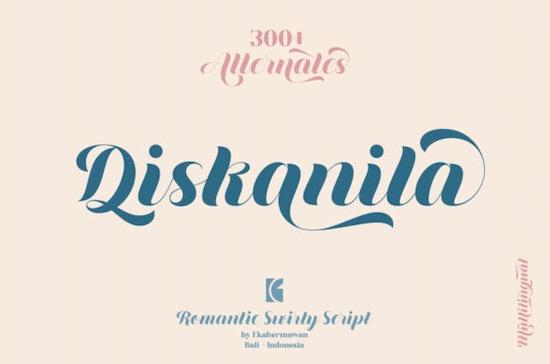 Diskanila Font free download