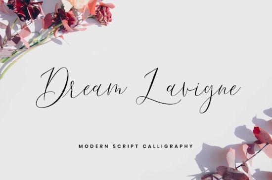 Dream Lavigne Font free download