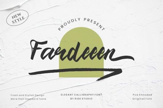 Fardeeen Font free download
