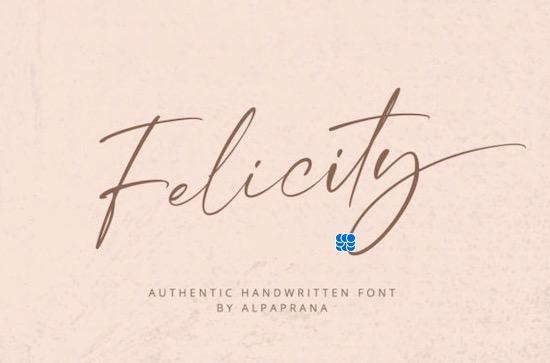 Felicity Font download