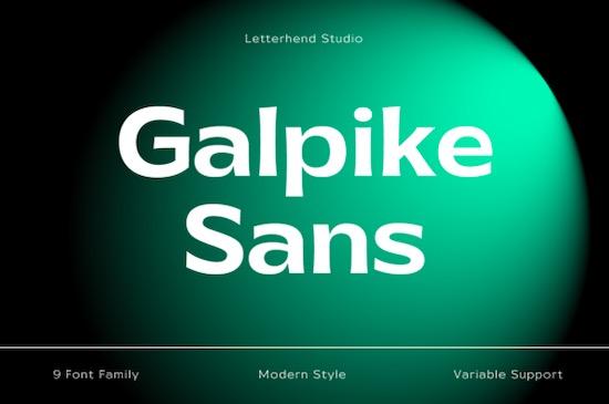 Galpike Font free download