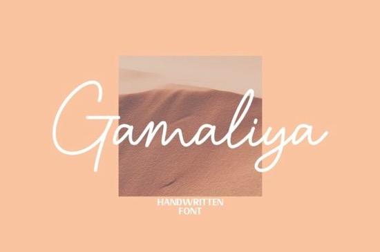 Gamaliya Font free download