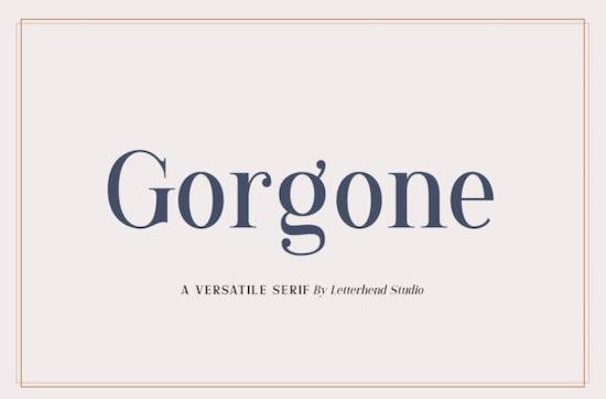 Gorgone Font free download