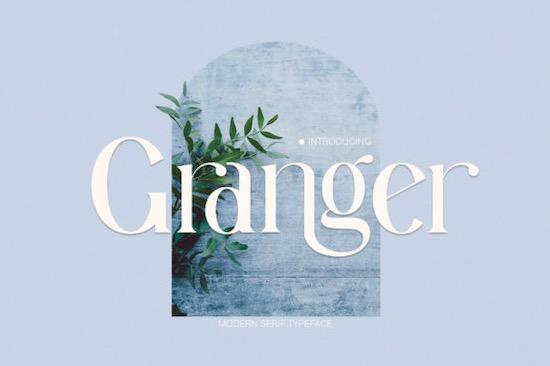 Granger Font free download