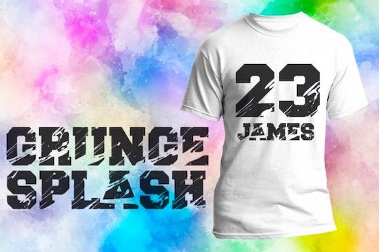 Grunge Splash Font free download