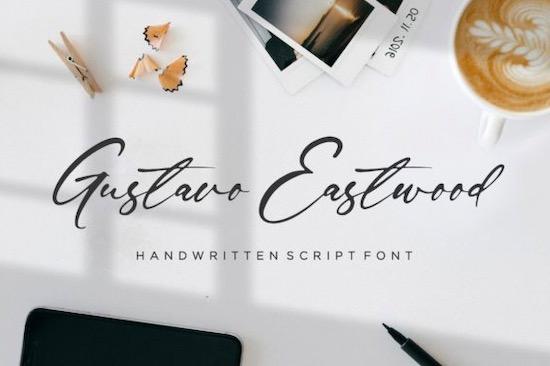 Gustavo Eastwood Font free download