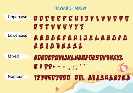 Hawaii Font download