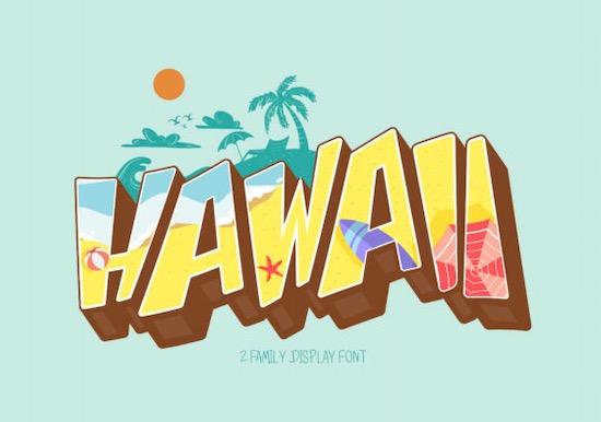 Hawaii Font free download