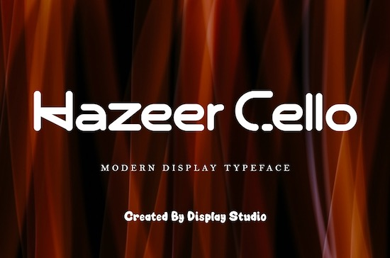 Hazeer Cello Font download