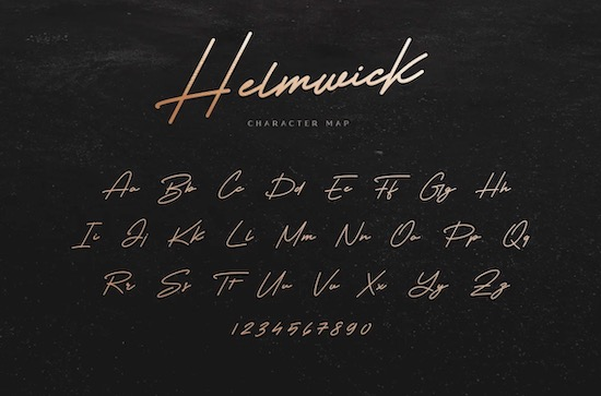 Helmwick Font download