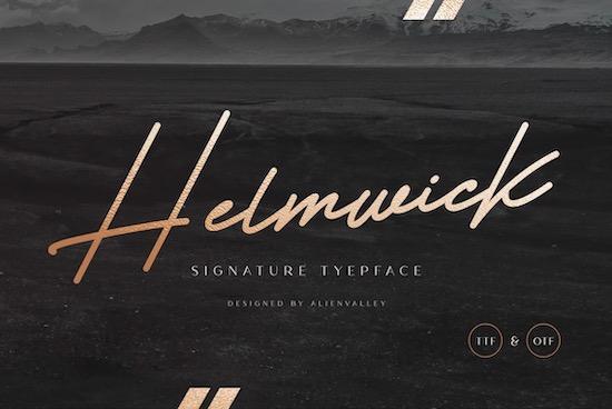 Helmwick Font free download