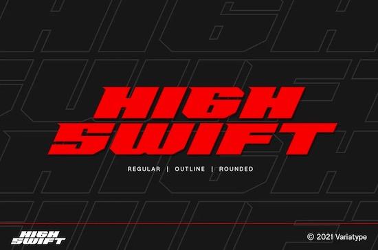 High Swift Font free download