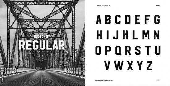 Hudson NY Font free
