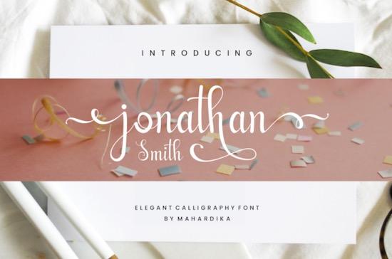 Jonathan Smith Font free download