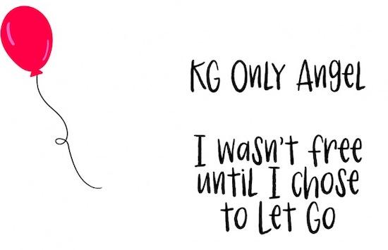 KG Only Angel Font free