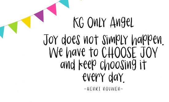 KG Only Angel Font