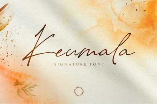 Keumala Font free download