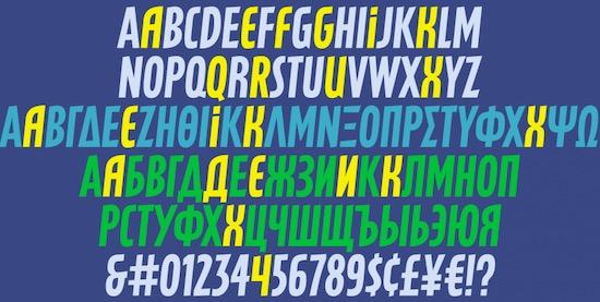 Latex Font free