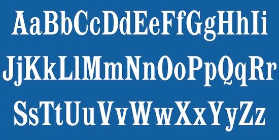 Latin CT Font free download