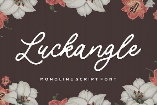 Luckangle Font free download
