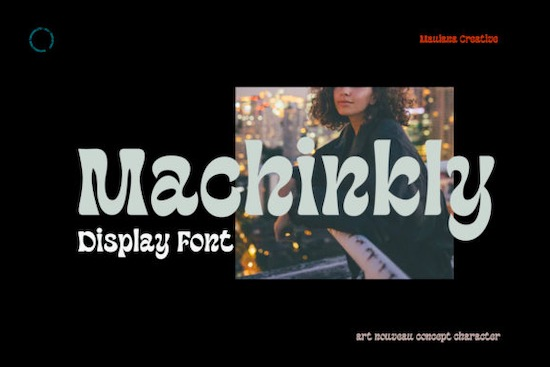 Machinkly Font free download