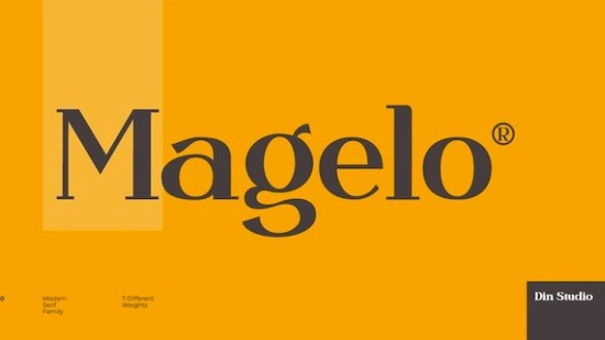 Magelo Font download