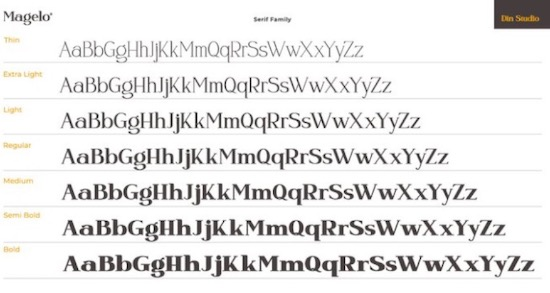 Magelo Font free