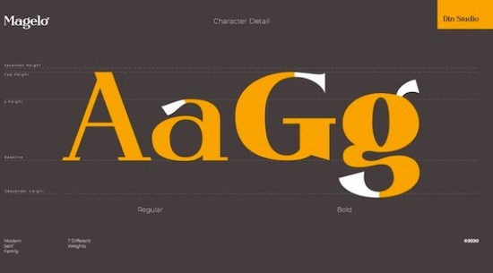 Magelo Font