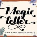 Magic Letter Font free download