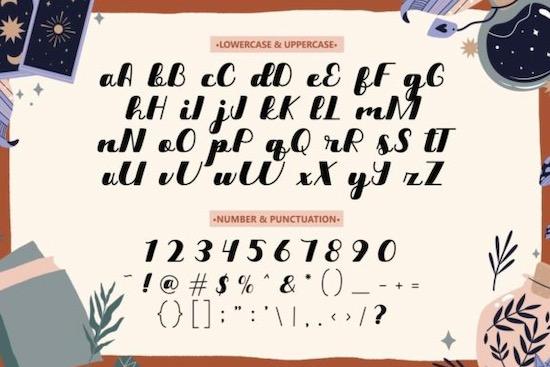 Magic Letter Font free