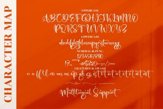 Marliana Alisha Font download