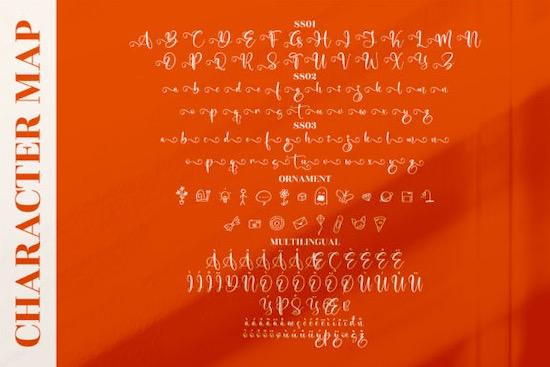 Marliana Alisha Font free