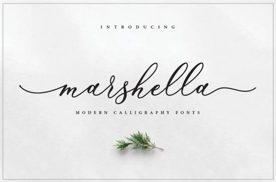 Marshella Font free download