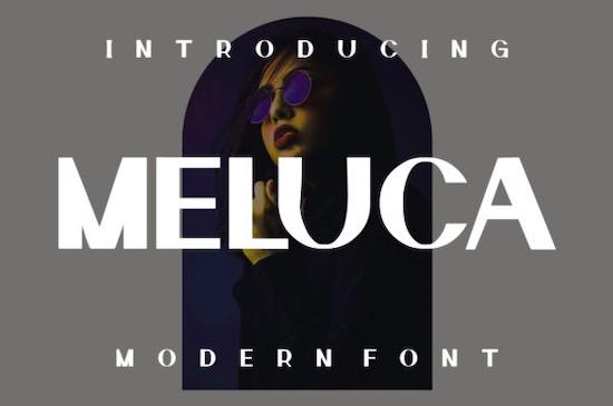 Meluca Font free download