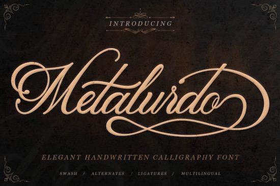 Metalurdo Font free download