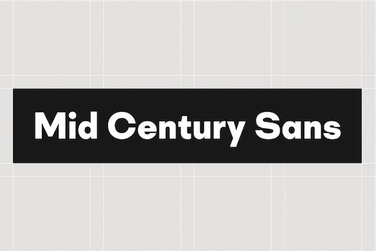 Mid Century Sans Font free download