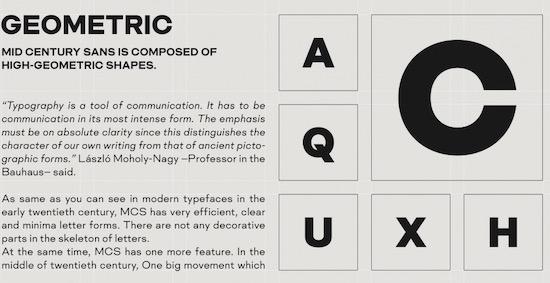 Mid Century Sans Font free