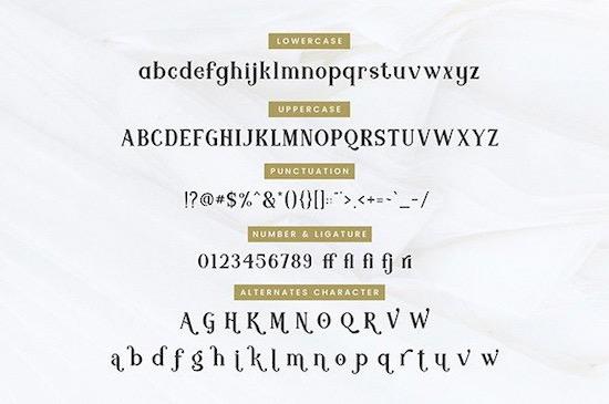 Modern Royale Font download